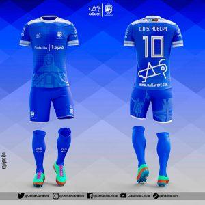 Diseño exclusivo para el CD Sordos Huelva para el Campeonato de Europa de Fútbol Sala.