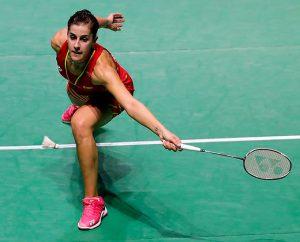 Carolina Marín sigue mostrando su mejor versión en el torneo que se disputa en Fuzhou. / Foto: Badminton Photo.