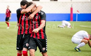 El Cartaya, único equipo de Huelva de la División de Honor Andaluza que ganó esta semana. / Foto: David Limón.