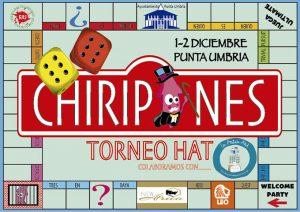Cartel anunciador del XII Torneo de Frisbee 'Chiripones', evento que tendrá lugar este fin de semana en Punta Umbría.