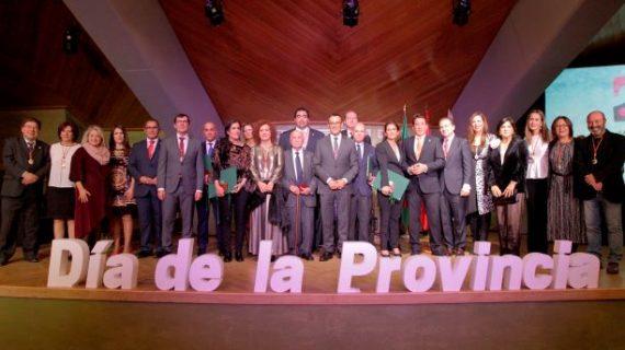 Huelva celebra el Día de la Provincia con la entrega de Medallas de Oro