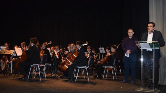 Unas 300 personas asisten en Trigueros al concierto  enmarcado en el XII Encuentro provincial de Conservatorios