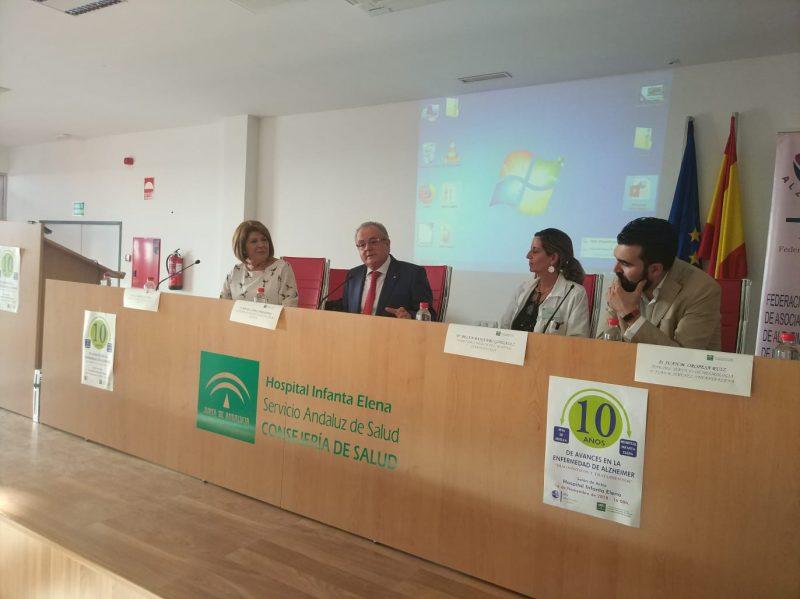 El X encuentro sobre alzheimer analiza en Huelva los avances en diagnóstico precoz y tratamientos contra la demencia