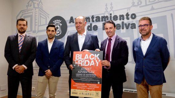 El 'Black Friday' contará con 'flashmob', pasacalles, regalos y más sorpresas en Huelva coincidiendo con el encendido del alumbrado