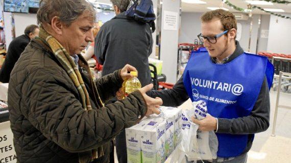 El Banco de Alimentos espera recaudar 140.000 kilos de alimentos en la Gran Recogida de 2018