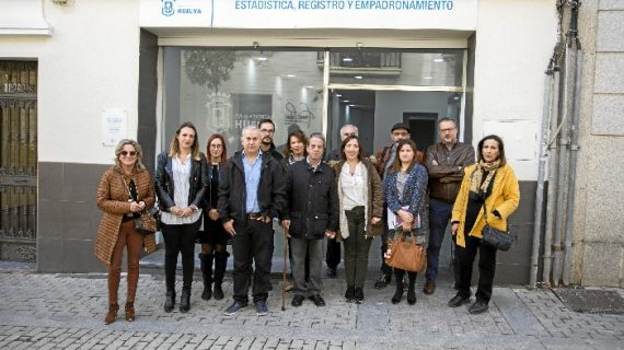 Unión de esfuerzos para la plena accesibilidad de la nueva oficina de Registro Municipal