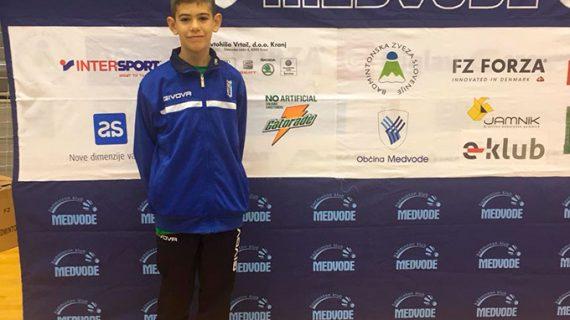Meritoria medalla de plata para Guillermo Nuviala en el Máster Jóvenes Sub 15 de Villanueva de la Vera
