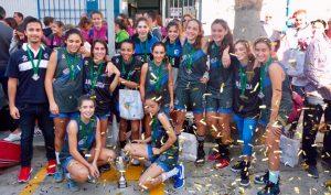 Meritorio segundo puesto de Huelva en el Andaluz de Selecciones Provinciales Infantil Femenino. / Foto: https://www.andaluzabaloncesto.org/huelva.