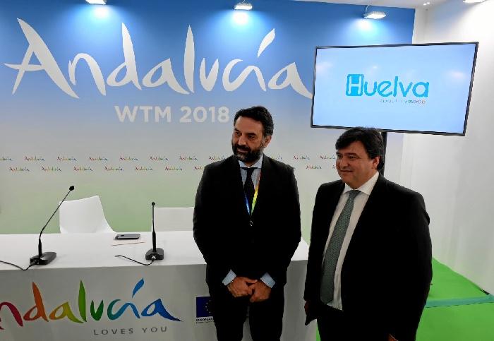 Huelva presenta su marca en la World Travel Market de Londres