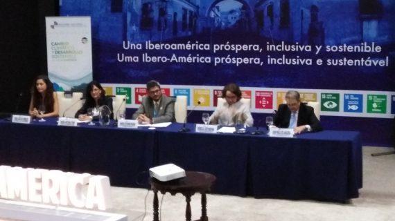 Huelva presenta en la Cumbre de Guatemala el primer Informe sobre Cambio Climático en Iberoamérica