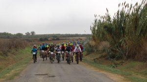 Aficionados de de las provincias de Huelva, Sevilla y Cádiz se dieron cita en Chucena.
