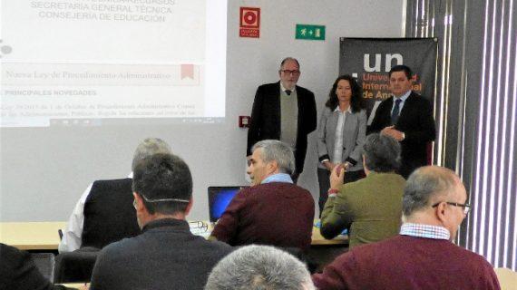 La UNIA acoge un Encuentro de Inspectores de Educación de la provincia de Huelva
