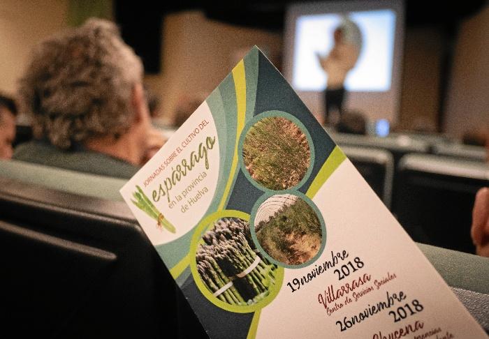 Inauguradas las jornadas sobre el cultivo del espárrago en la provincia de Huelva