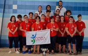 Representantes del CODA que han brillado en el Campeonato de Natación celebrado en Lucena ( Córdoba).