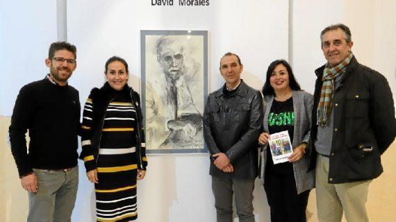El artista David Morales homenajea a Juan Ramón con la exposición La Luz con el Tiempo Dentro
