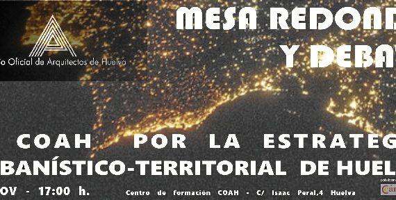 El Colegio de Arquitectos de Huelva celebra el Mes del Urbanismo