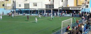 Trabajado empate el que consiguió la Olímpica Valverdeña en La Algaba. / Foto: Captura Surande TV.