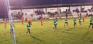 Goleada de la Olímpica Valverdeña ante el San José. / Foto: @Jmecobos.