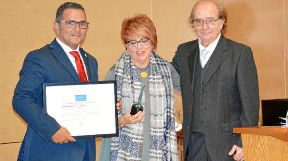 Diputación recibe el premio Ciudadanos por su trayectoria en información europea y en proyectos de desarrollo local