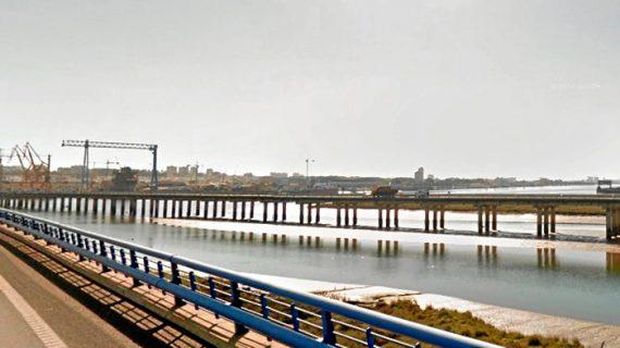 Finalizan las obras del puente Sifón y continúan las del Odiel