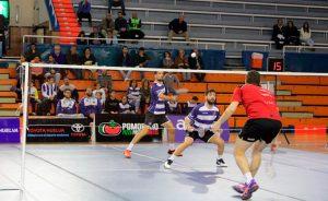 La victoria en el dobles masculino agradó al técnico Paco Ojeda.