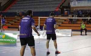 """Eliezer Ojeda, que ganó el dobles masculino junto a Jesús Cebey, señaló que al Recre IES La Orden le salió """"un partido redondo""""."""