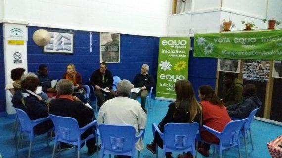 EQUO Verdes-Iniciativa Andalucía en Huelva llama a multiplicar recursos en materia de integración