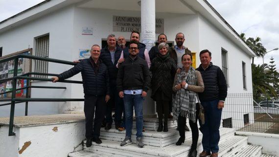Independientes Huelva (IxH) se reúne con los vecinos de El Portil para conocer sus inquietudes