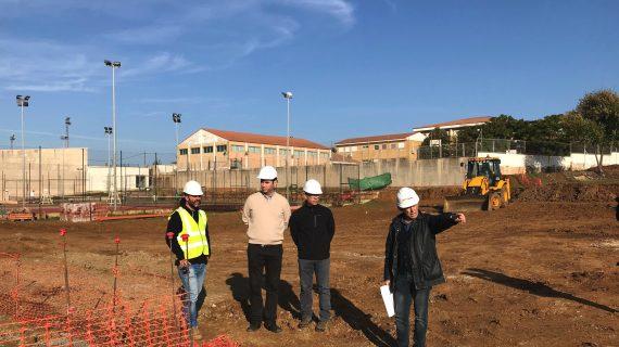 Valverde del Camino anuncia la construcción de los vasos de la nueva piscina de verano