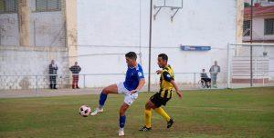 Trabajo sin premio para el San Roque ante el Xerez Deportivo. / Foto: Foto: @XerezCD_OFICIAL.