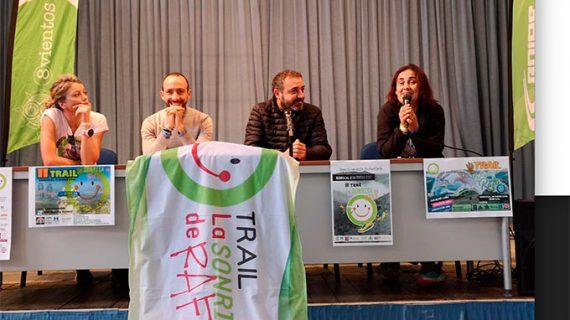 Berrocal asiste a la presentación del V Trail La Sonrisa de Rafa del próximo 19 de enero