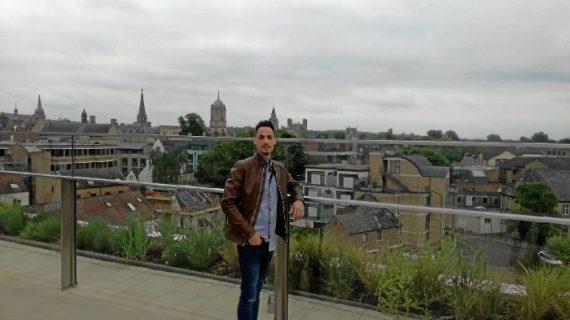 Las ganas de Ángel Carrascal por labrarse un futuro laboral lo llevaron hasta Oxford