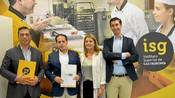Asociados a BARECA podrán conseguir una beca del Instituto Superior de Gastronomía