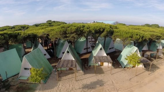 Huelva como la segunda provincia andaluza con mayor número de turistas en campings