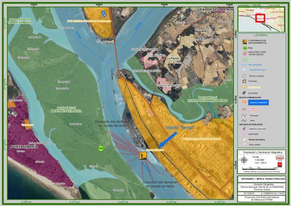 El Puerto de Huelva acoge este martes un simulacro de contaminación del litoral