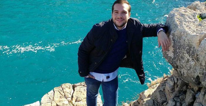 José Angel Arroyo Caballero, un onubense con el corazón dividido entre España e Italia