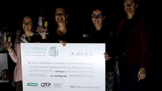 El proyecto 'Varitas mágicas con poderes antimiedo'del Juan Ramón Jiménez de Huelva obtiene el Premio Hospital Optimista