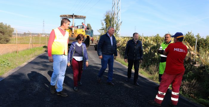 Finaliza la reparación de los caminos rurales de Cartaya