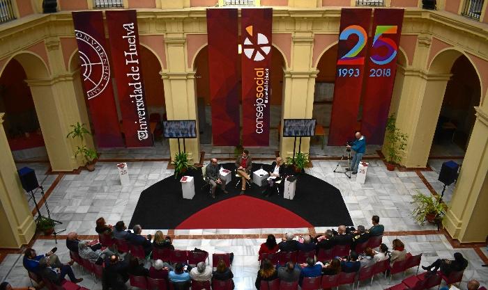 La Universidad de Huelva crea 2,5 empleos en la provincia por cada empleo directo en la institución
