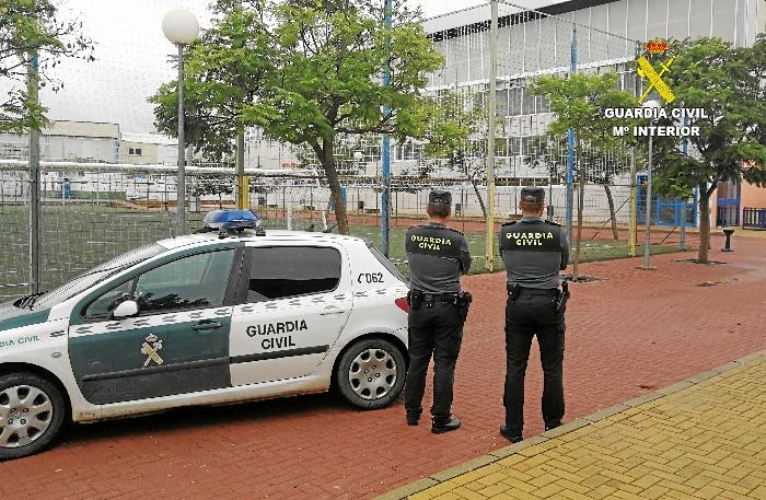 Detenidos los autores del robo en el Polideportivo de Villarrasa