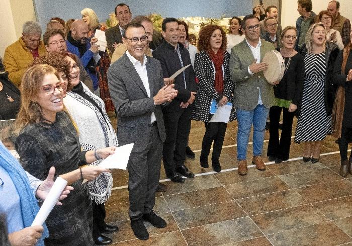 Diputación abre las puertas a la Navidad con la inauguración del Belén en la Sala de la Provincia