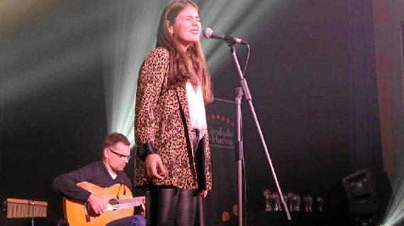 La almonteña Rocío Cordero, de 'Menuda Noche' a ganar el concurso 'Suena Condado' representando a Almonte