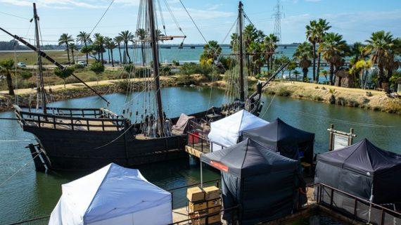 El Muelle de las Carabelas será escenario de la serie 'La peste' en su segunda temporada
