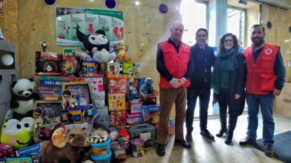 La campaña 'Huelva es solidaria' consigue más de 2.000 juguetes para familias en riesgo de vulnerabilidad