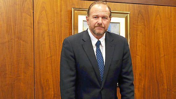 José Luis García-Palacios, nuevo presidente del Consejo Social de la Universidad de Huelva