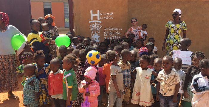Diputación colabora en el desarrollo formativo y alimentario de mujeres y niños en Burkina Faso