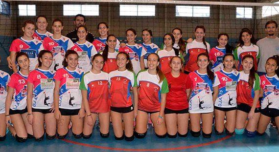 Doble triunfo del Club DJA '75 de Ayamonte en sus partidos de las Ligas Provinciales de Voleibol