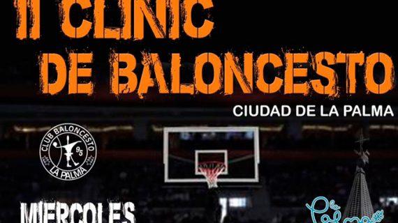 El II Clinic de Baloncesto 'Ciudad de La Palma', arranque del Campeonato de España Infantil y Cadete de Selecciones Autonómicas