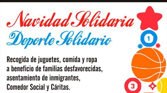Lepe pone en marcha de nuevo las Jornadas 'Navidad Solidaria, Deporte Solidario'