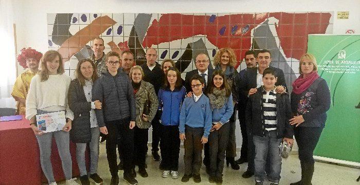 El colegio San Vicente de Paúl de Huelva y el IES José Caballero, protagonistas en el certamen 'Solidaridad en las letras'
